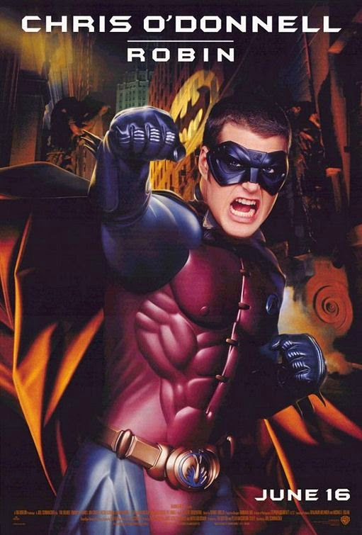 Batman Forever Robin movie poster