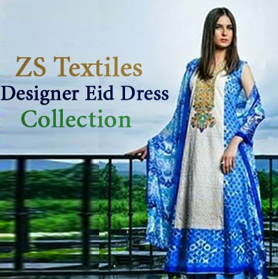 ZS Textiles Designer Eid Dress Collection