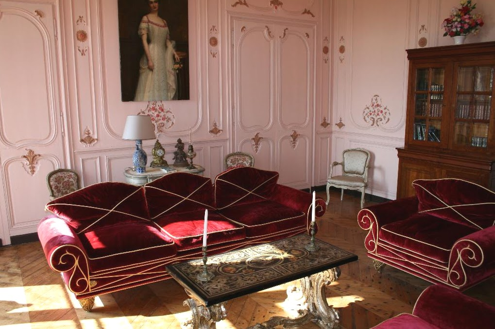 Old world gothic and victorian interior design for French chateau style decor