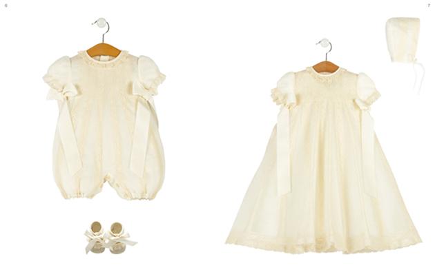 ropa de bebe para bautizo en el corte ingles