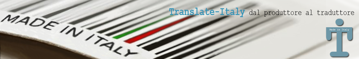 Translate Italy - Tradurre il Made in Italy