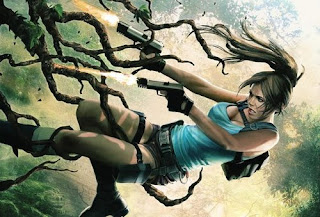 Lara Croft and the Frozen Omen cover, From Dark Horse Comics