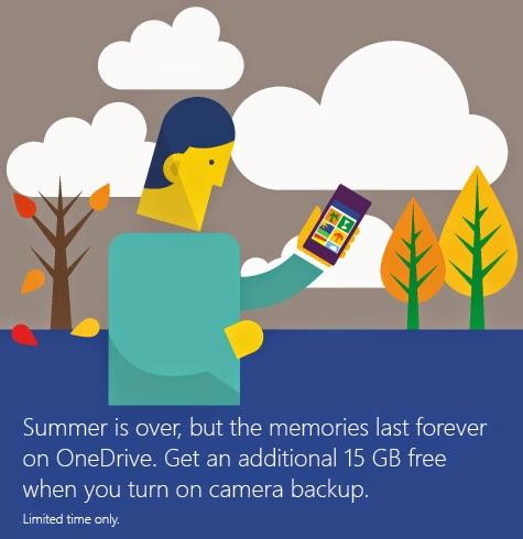 Microsoft OneDrive Promotion