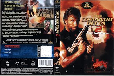 Comando Delta 2 Conexão Colômbia DVD Capa