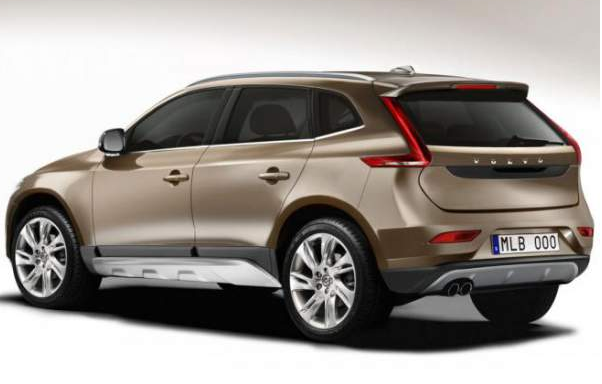 2015 Volvo XC70 Rear View