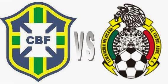 Ulasan Laga Brasil Versus Meksiko, Babak Group A Piala Dunia 2014