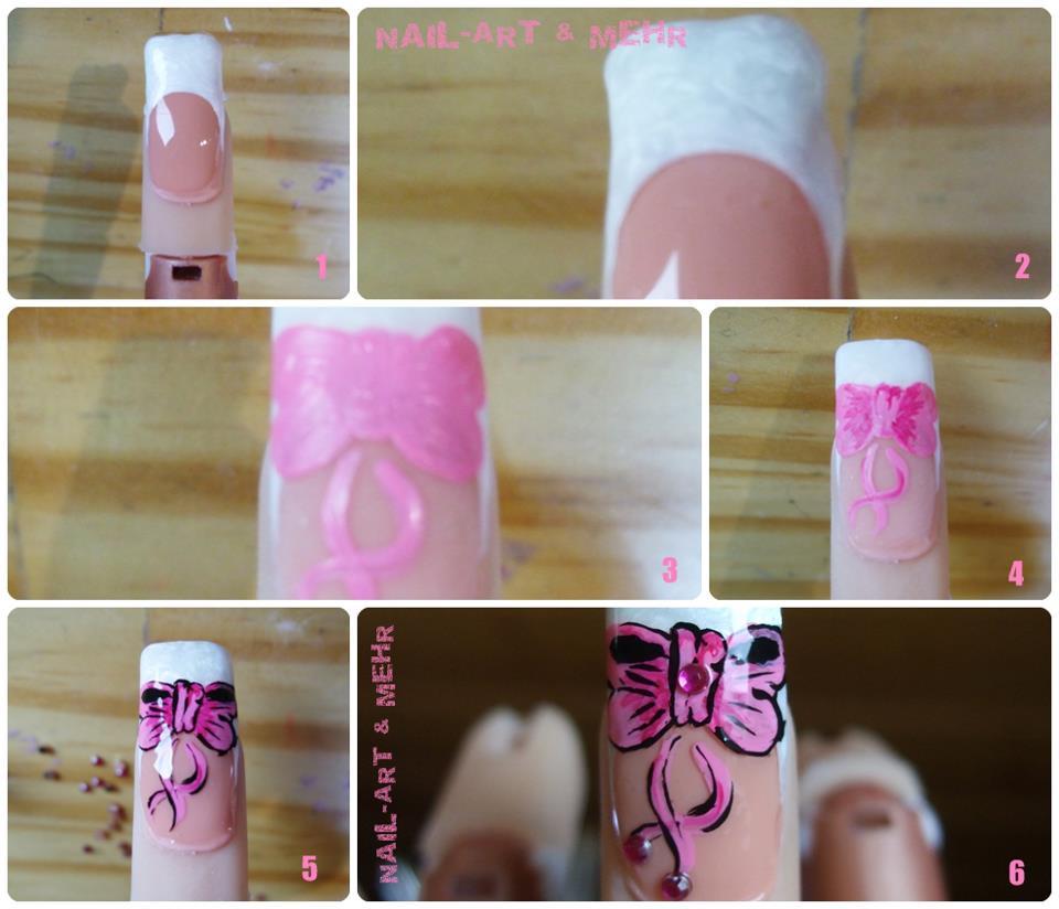 Orchid nail comment faire un joli noeud - Comment faire un joli noeud ...