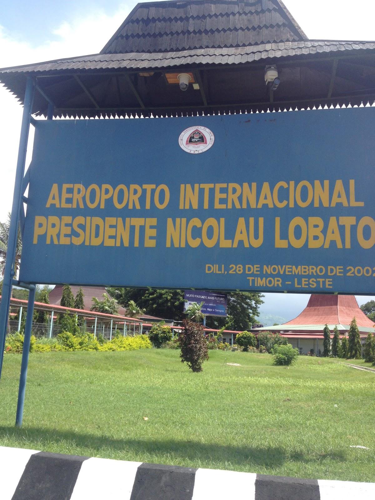 Aeroporto Dili : Dean in dili: adventures in east timor: dili