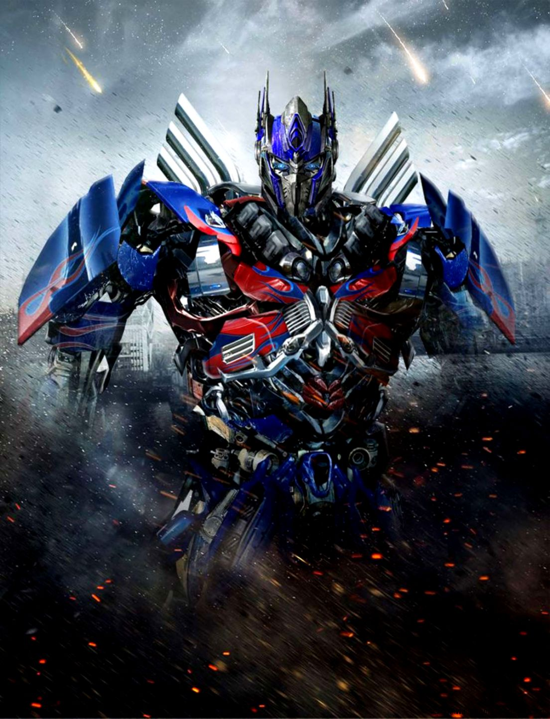 Optimus Prime Age Of Extinction Poster   wallpaper