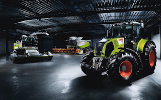 Agricultural Machinery Garage HD Wallpaper