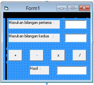 lalu masuk ke program editor nya, dengan cara klik 2x tombol button ...