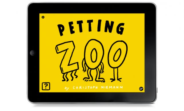 Petting Zoo app iPad Christoph Niemann