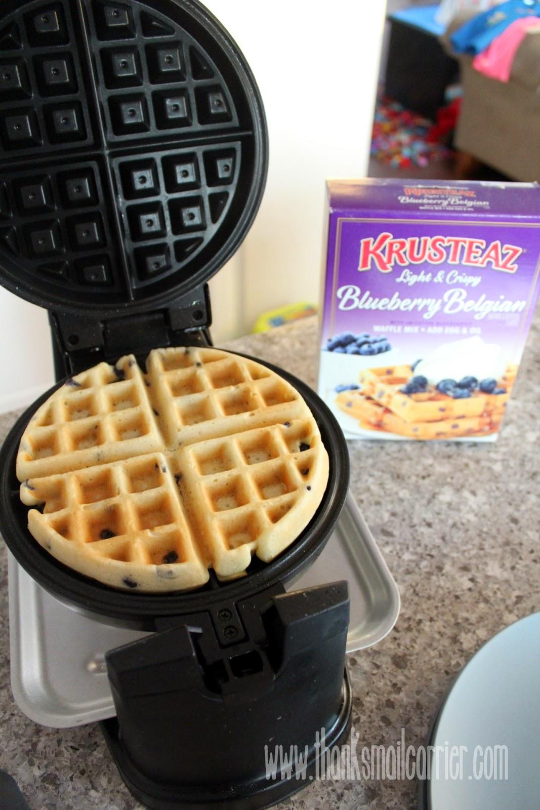 krusteaz waffle mix