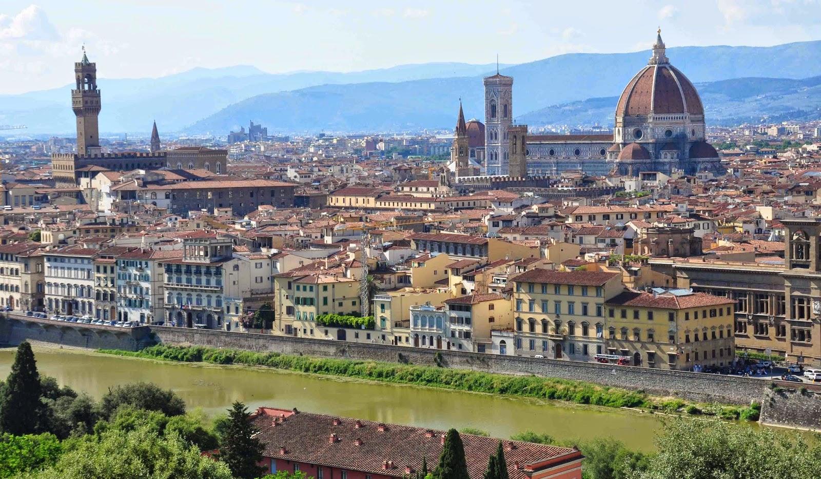 Florencia, un destino turístico de primer nivel