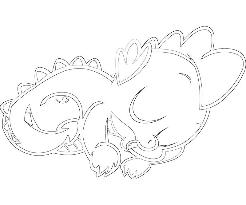 My Little Pony Spike Coloring Coloring Pages