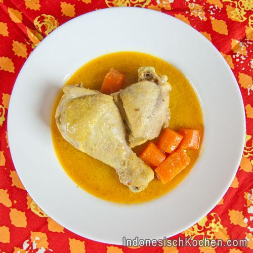 Indonesisches Hähnchen Curry Rezept