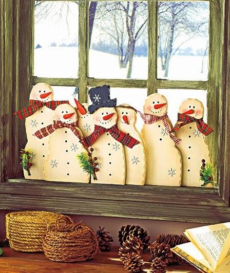 Decoracion Ventanas Navidad ~   navidad,an?mate a decorar tus ventanas de manera sencilla y bonita