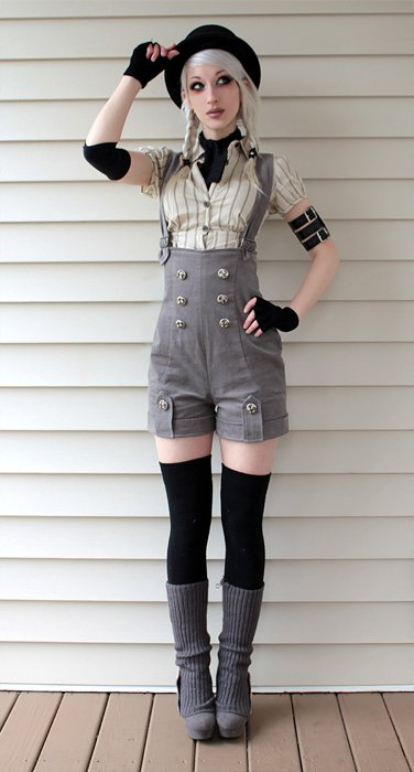 Dieselpunk Clothing The Punkettes Introduction To Clockpunk