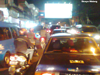 Malang Area Kampus Macet