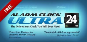 alarm clock application for android