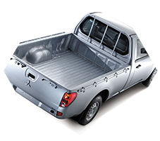 Wide cargo bed dimension for strada triton Single Cabin type