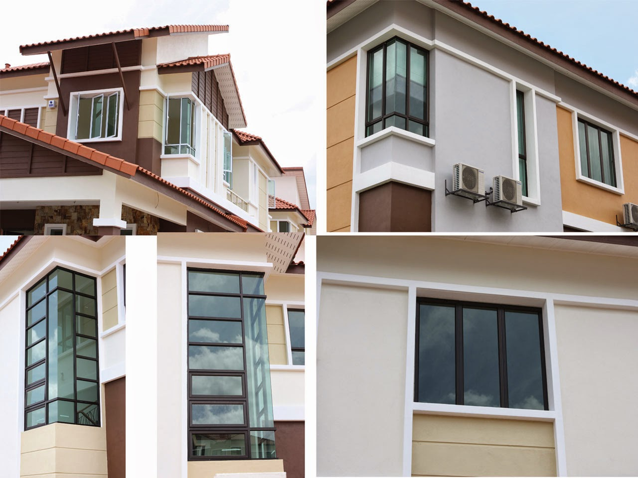 Homes decoratings 4 different types of windows available for Home with windows