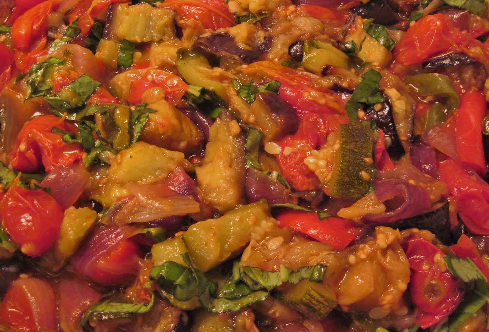 Carolina Sauce Company: Gloria's Rustic Roasted Ratatouille