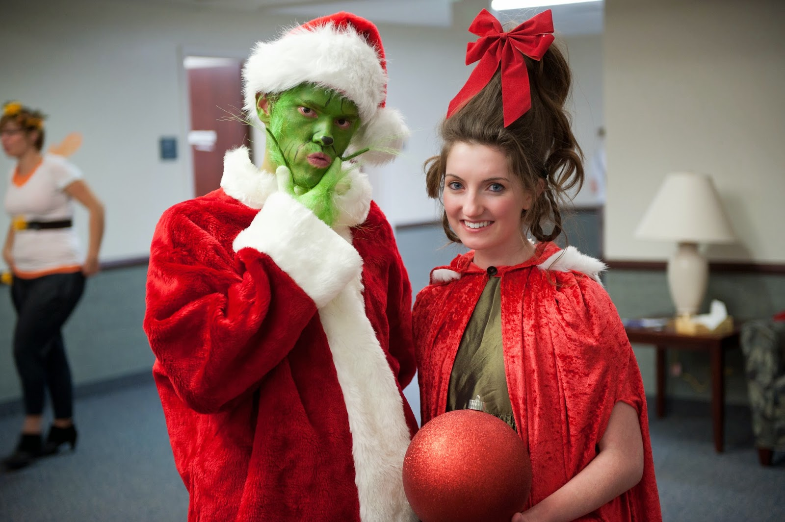Grinch and Cindy Who Couple Costumes