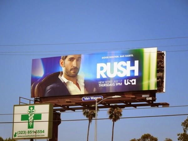 Rush season 1 billboard