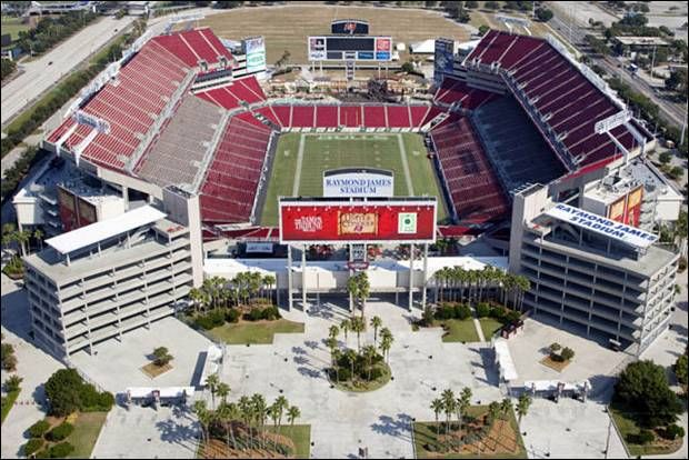 Raymond James Stadium, Tampa Bay