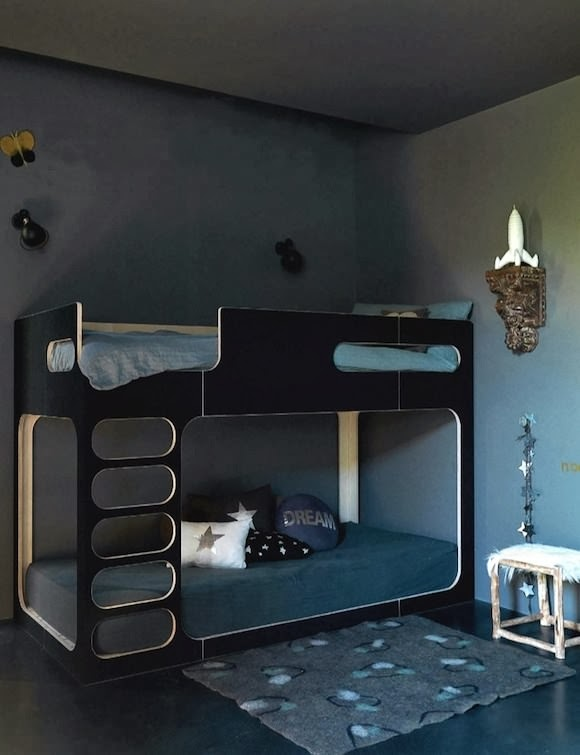 Beds for kids bedroom and bathroom ideas for Modern loft bedroom