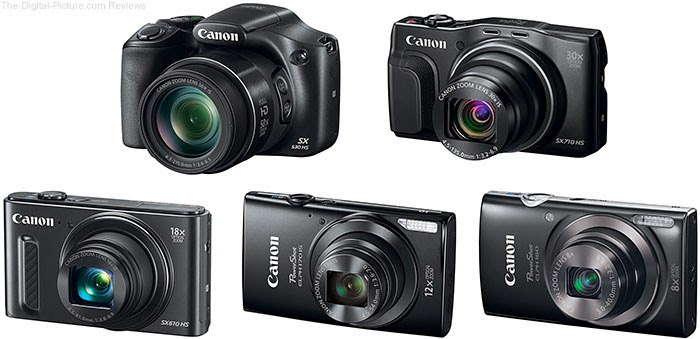 5 New PowerShot Digital camera models from Canon U. S. A. Offer Functionality, Portability as well as Precision for Distinct, Beautiful Photos as well as HD Video