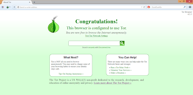 Step 1: Open you TOR Browser.