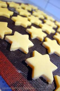 Лимонные звёздочки : приготовление