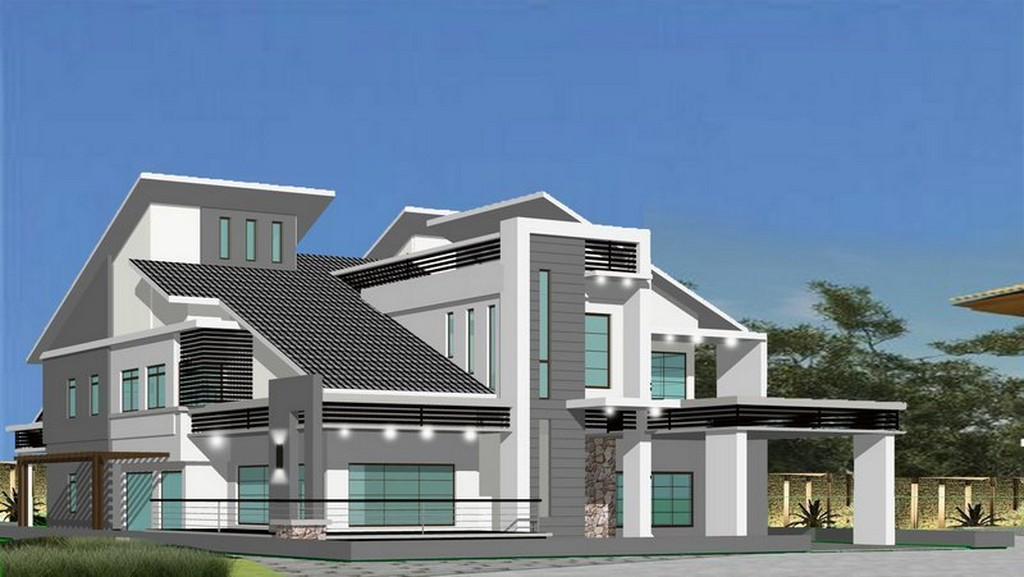 Modern homes exterior beautiful designs ideas for Beautiful home front design