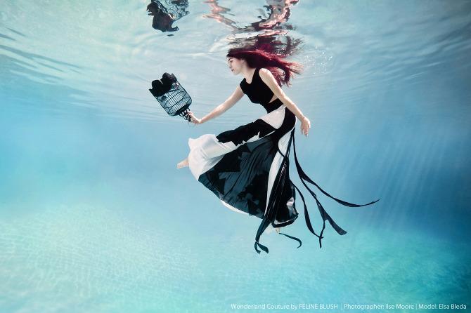 Underwater Fashion Shoot Underwater Fashion Photography