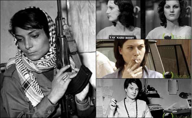 6 Teroris Wanita Cantik yang paing Berbahaya dan Terkenal di Dunia