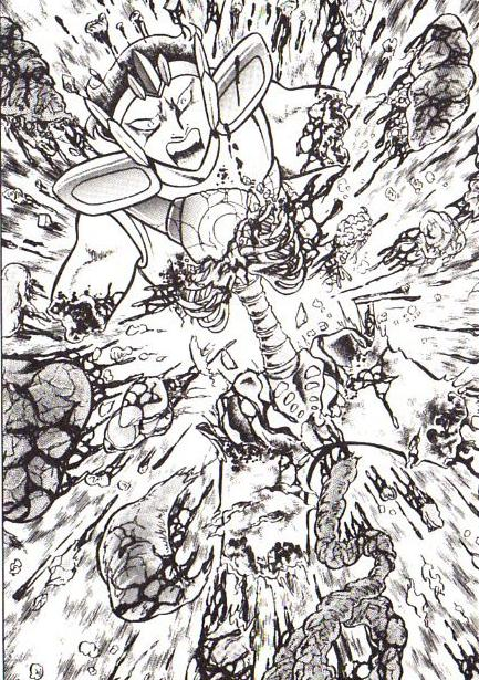 Griffon vs Lince - Uma batalha mortal Nachi+desmembrado