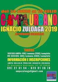 Campa Urbano Ignacio Zuloaga 2019