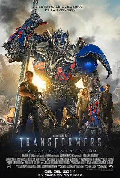PeliCity: Ver Transformers 4 (2014): La era de la extinción online en