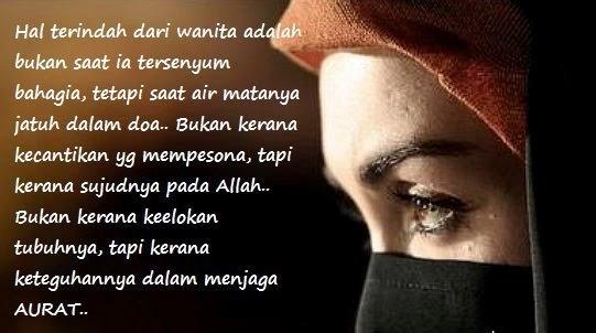 - Setiap wanita itu adalah mulia dan istimewa -