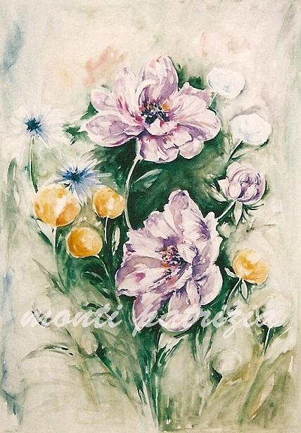 Dipinti e disegni for Fiori dipinti ad olio