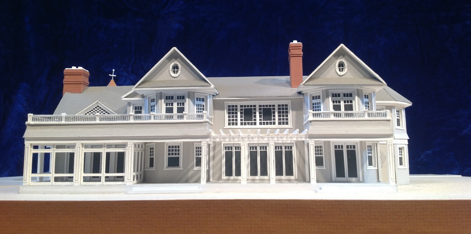 Architectural Model By Gary Lawrance, AIA Lawrance Architectural  Presentations Of A Hamptons Home Designed By John Laffey  Architect,Watermill, New York.