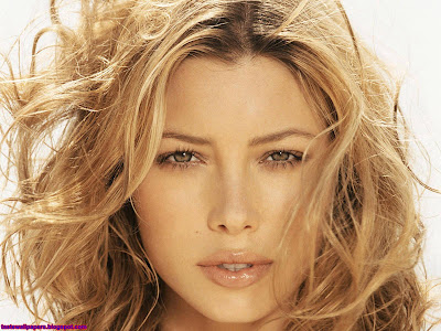 Jessica Biel beautiful Beautiful face wallpaper
