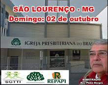 02.10.2016 - IPB DE SÃO LOURENÇO