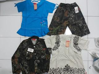 lelangan baju anak branded