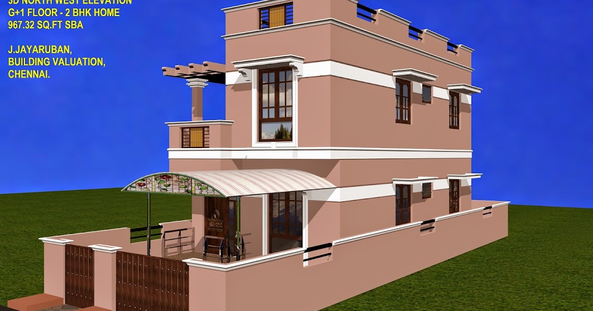 ... Home - Construction Cost with Plan, 3d Elevation and Specifications