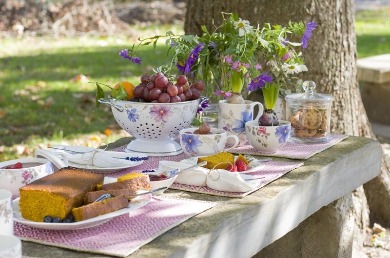 Decorar en familia: Merienda dulce #InspiredByVB en el campo1