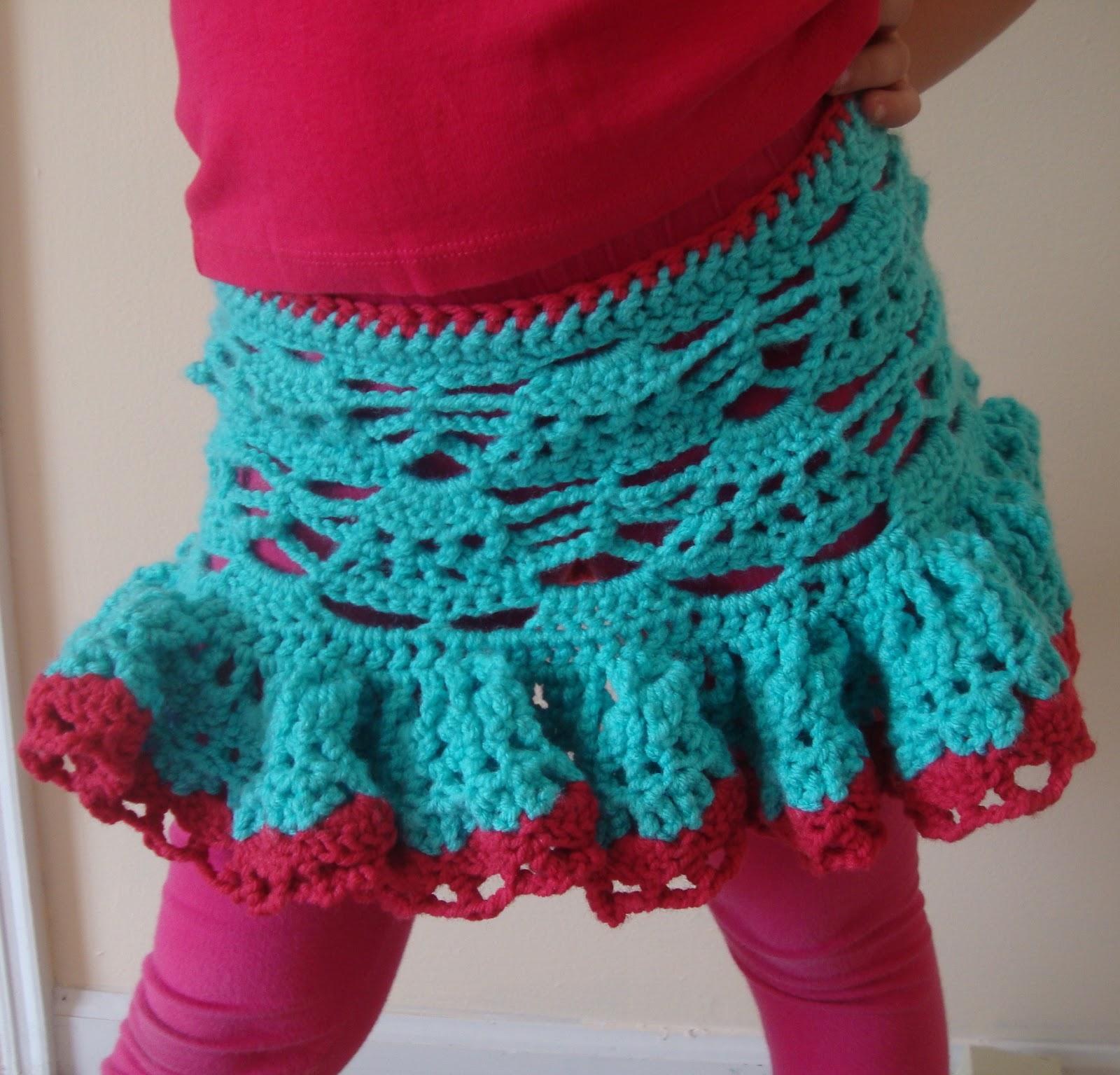 Bethany Sew-and-Sew: Eleanor\'s Lacy Crochet Ruffle Skirt--Tutorial
