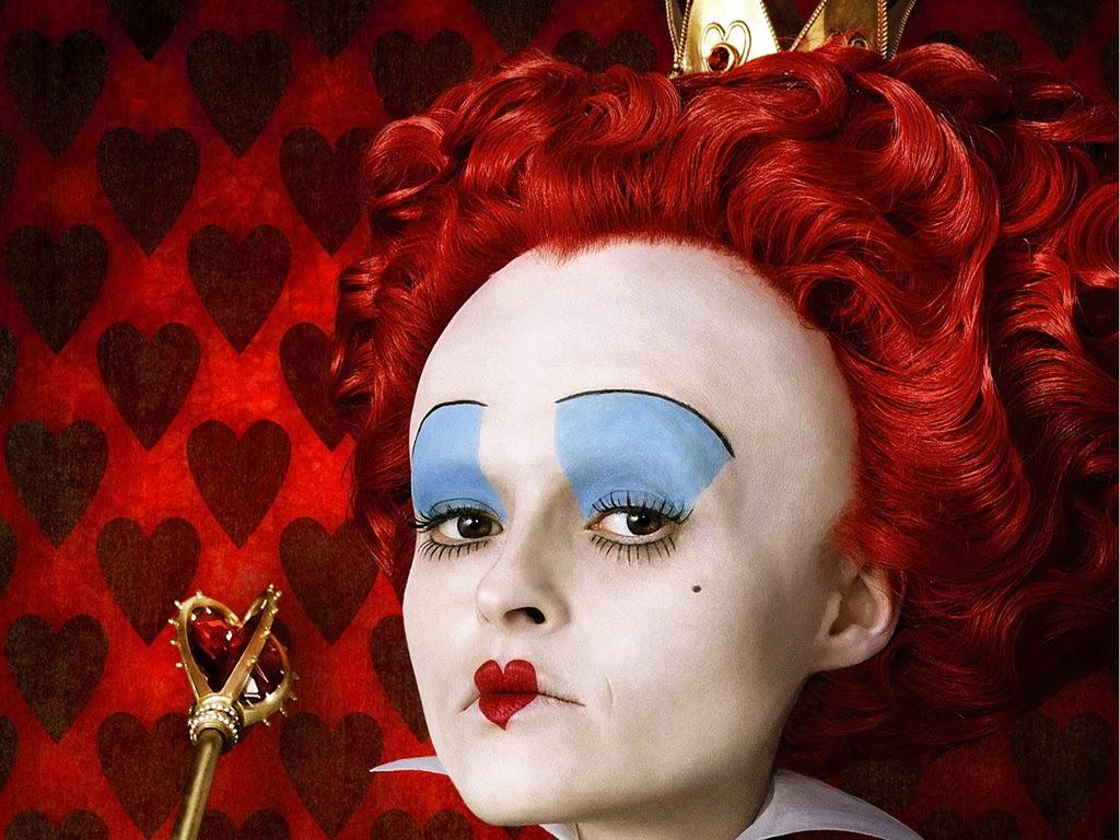 maquillaje reina roja